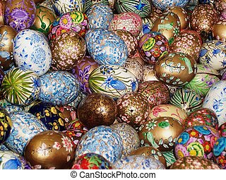 Coloured Eggs - Coloured Egss in shop