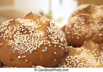 Aix-en-provence #62 - Salted Bread.  Shallow DOF.