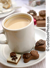coffee and truffles - delicious truffles and coffee