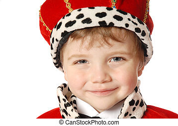 Prince - boy in costume