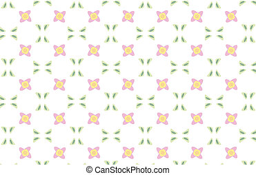 Repeated Background - Repeated pattern - flower background