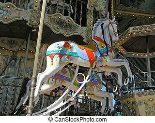 Merry-go-round - Victorian merry-go-round