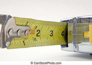 Tape measure - The business end of a builder\\\'s tape...