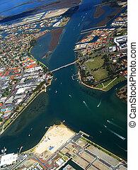 Coastal Town 2 - Aerial View of Coastal Town 2