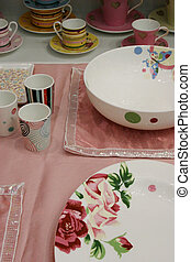 Modern homeware - Cups and plates