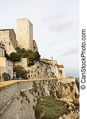 Antibes #108 - A town overlooking the sea in Antibes,...