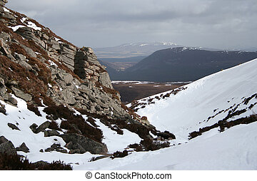 Chalamain Gap, Cairngorms, Scottish Highlands