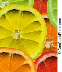 mixed fruit background