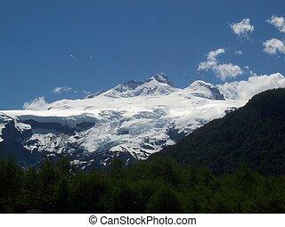 Tronador Mountain - Mount Tronador in Patagonia Argentina