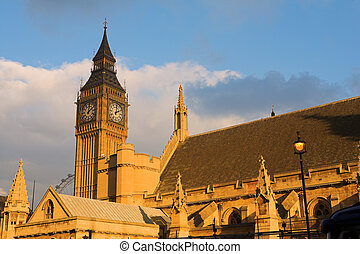 Bigben #12 - The buildings of the House of Parliament and...