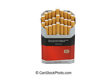 smoke 14 cigarette pack