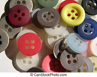button pile - pile of buttons
