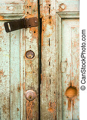 Gunge Door - Photo of a grungy door