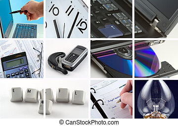 Doing Business - A collection of images representing doing...