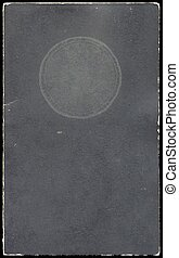 Old booklet cover - Antique booklet cover from early...