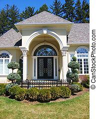Door - Front - Front door / entrance to beautiful house /...