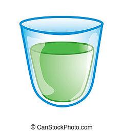 Medicine cup icon