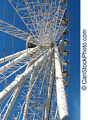 Giant wheel 2 - giant ferris wheel in Seville, Spain