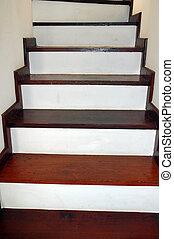 Interiors - Wood Stairway