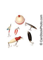 Fishing Gear - Lures from the 1950s 60s and 90s