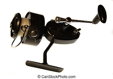 Fishing Gear - retro fishing reel from the 1950\\\'s