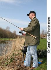 Fisherman - Man out fishing