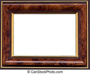 Classic frame - Classic brown wooden frame