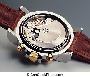 Watch mechanism - Automatic watch mechanism