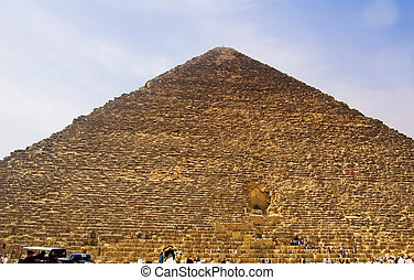 Egyptian Pyramids at Giza, Egypt