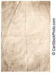 Antique Decayed Paper inc clipping path - scanned decayed...