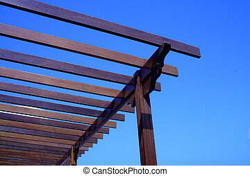 Wooden construction ...