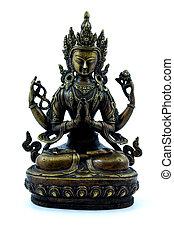Buddhist effigy - Nepalese buddhist effigy