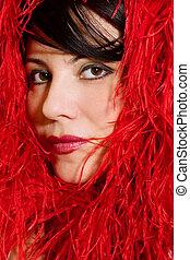 Mystique - Woman portrait