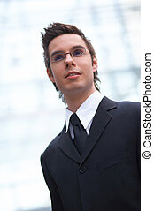 young business - Portrait of a young businessman