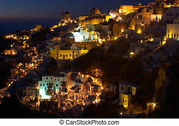 Traditional greek village, Oia, Santorini 4