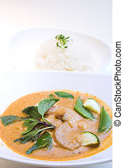 Thai Style Red Curry Chicken