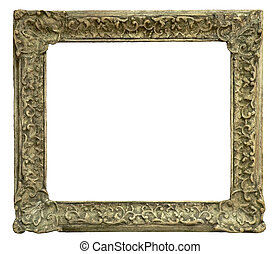 Old frame - olde frame carved in wood