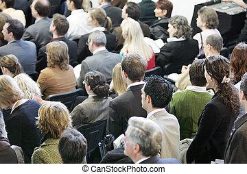 multitud, -, Menschenmenge