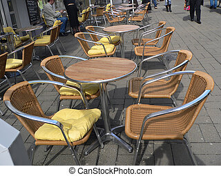 Lonely Chairs - At the 4. of April i walked through Trier...