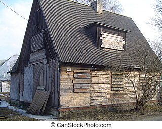 Derelict house - Abandoned house