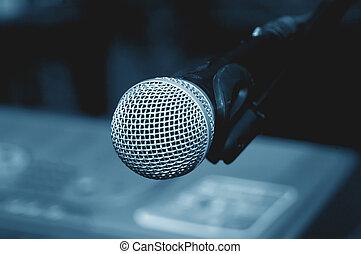 micrófono, macro, 2