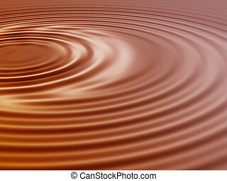 chocolate wave pattern