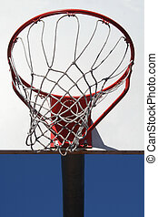 Basketball Net - A Basketball Net and Backboard are...