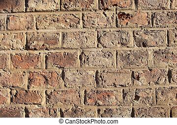 apenas, outro, tijolo, parede