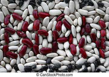 Beans 4 - Beans, three colors