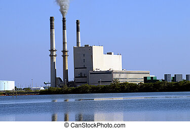 Power Plant - Power plant on the bay