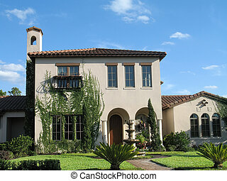 Mediterranean Home - upscale Mediterranean styled home with...