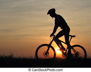 cycling - mountain biker