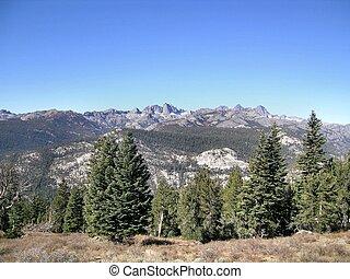 Eastern Sierras 2 - The Minerets, in the Ritter Range, in...