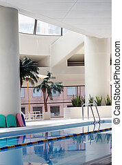 Indoor pool - Indoor swimming pool (vertical)